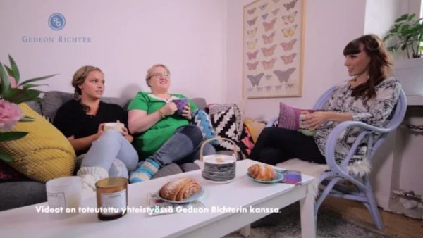 Gedeon Richter – Keskustelua menkoista ja naisten taudeista